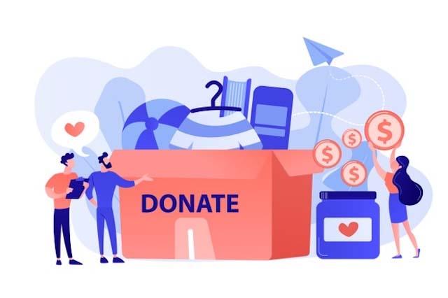 làm web kiếm tiền online donation