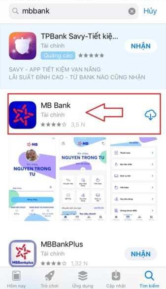 mở tài khoản MB Bank